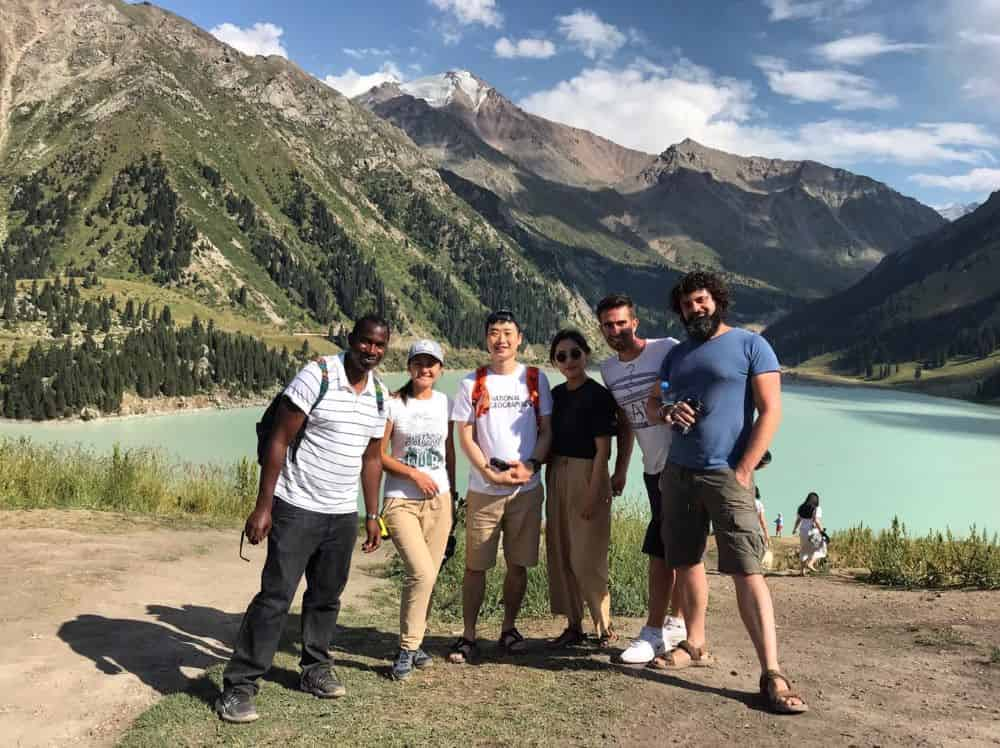 Group tour to Big Almaty Lake